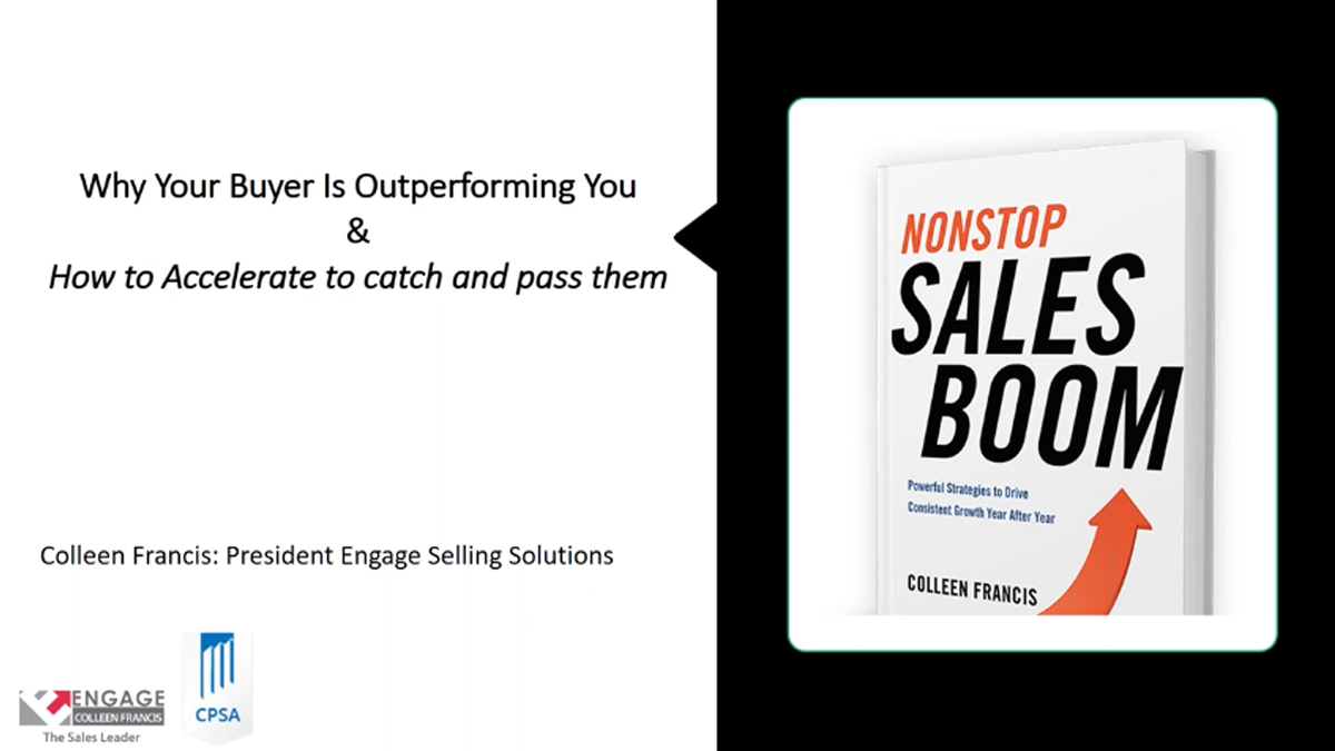 Creating a Nonstop Sales Boom: Putting an End to Boom and Bust Sales Cycles