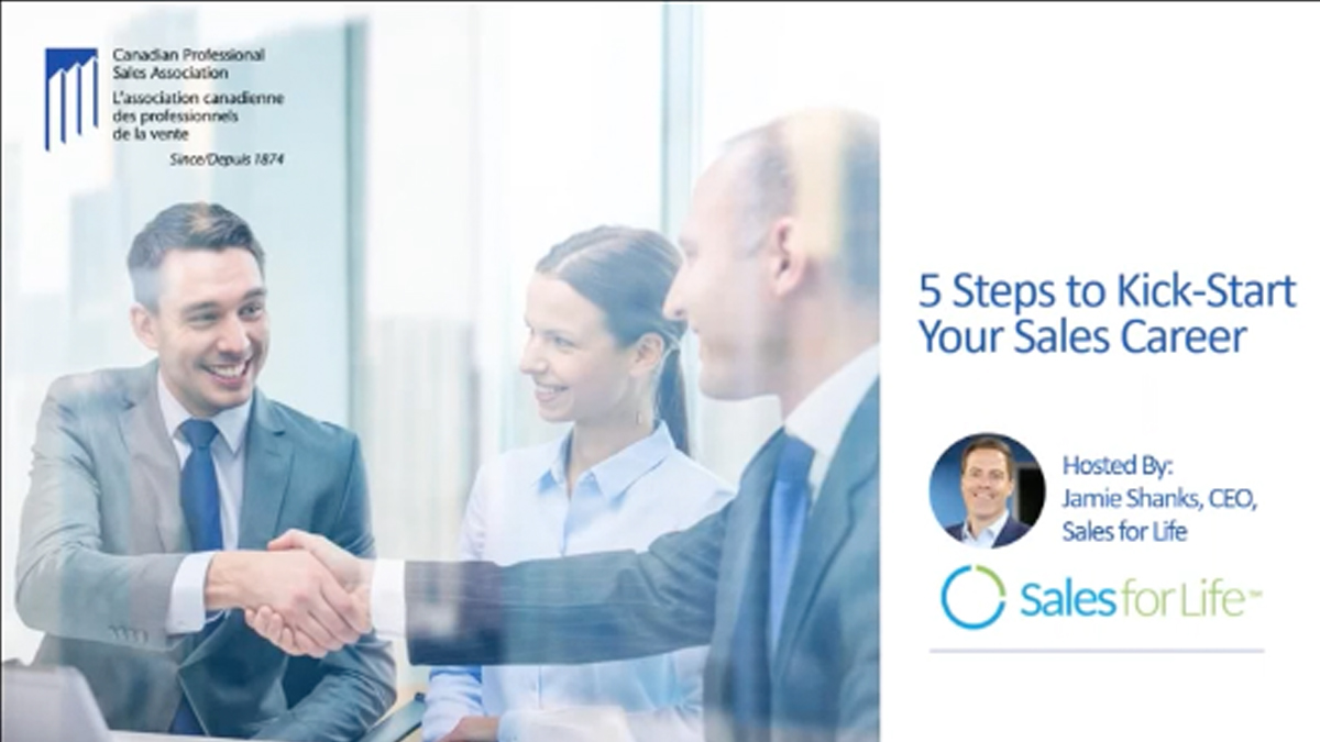 5 Steps to Kick Start your Sales Career