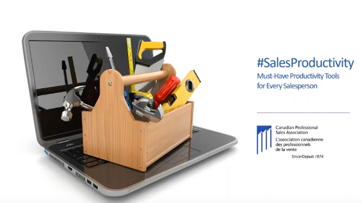 PART 2- Must Have Productivity Tools for Every Salesperson