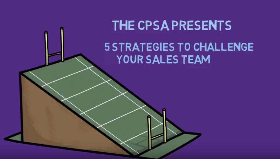 Video: 5 Strategies to Challenge Your Sales Team