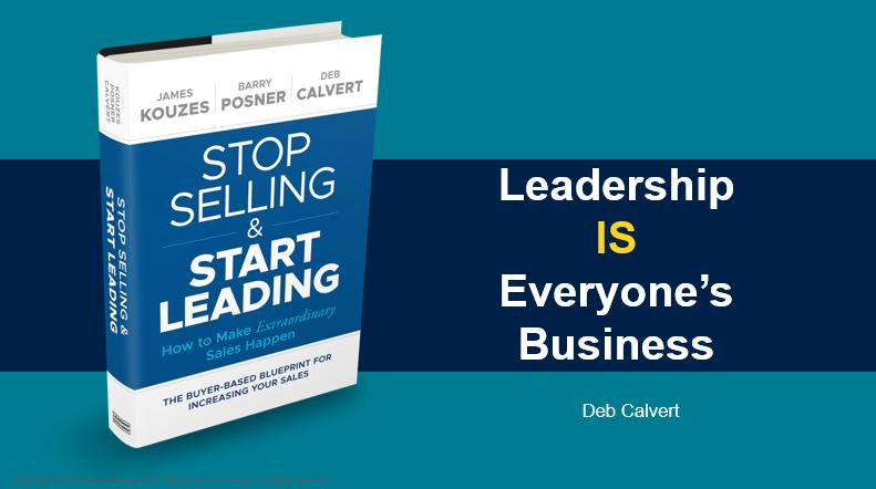 Webinar Recording- Leadership IS Everyone's Business with author, Deb Calvert