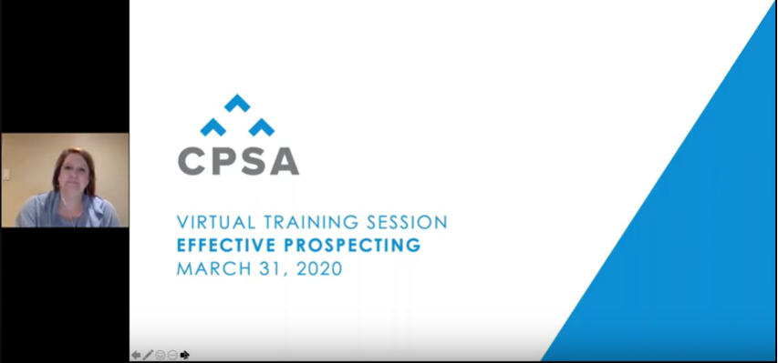 Virtual Training Session: Effective Prospecting