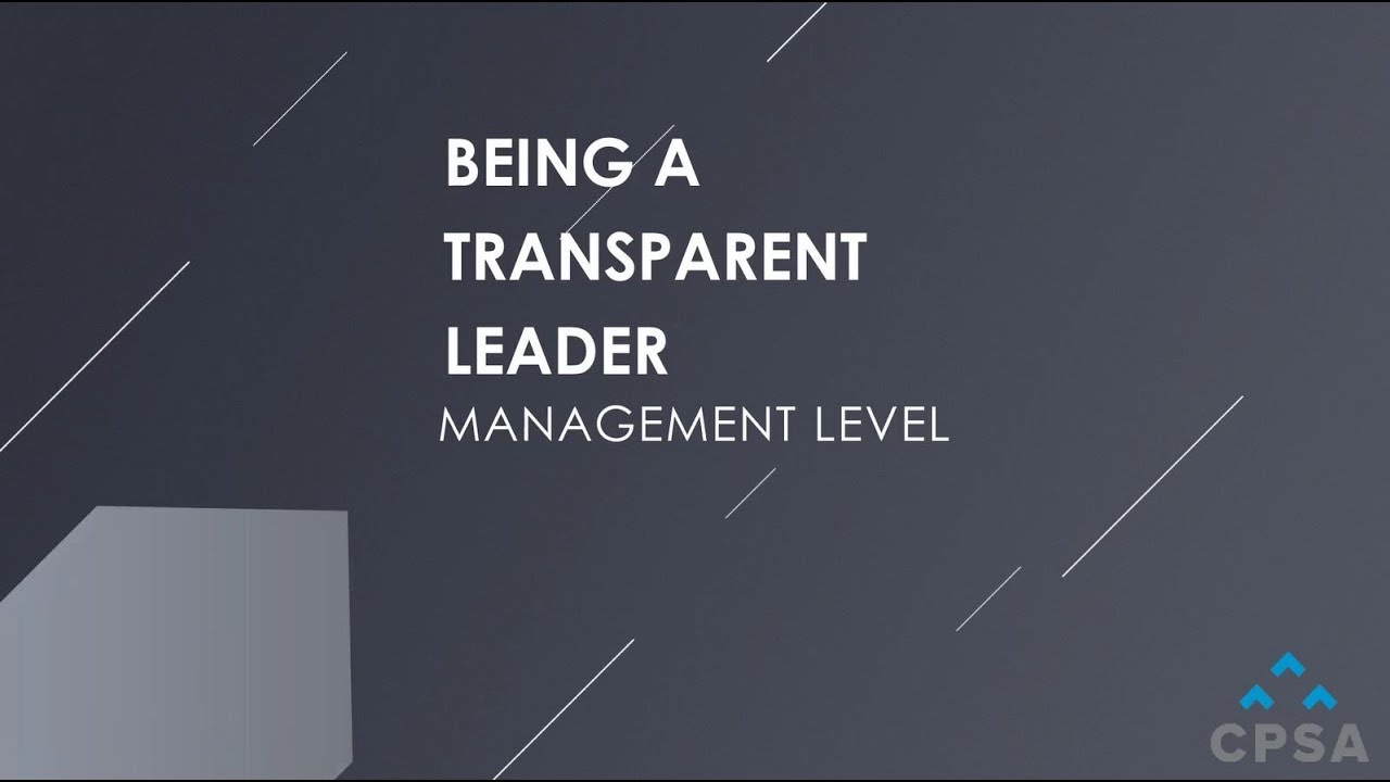 4 Ways to Be a Transparent Sales Leader to Increase Team Engagement