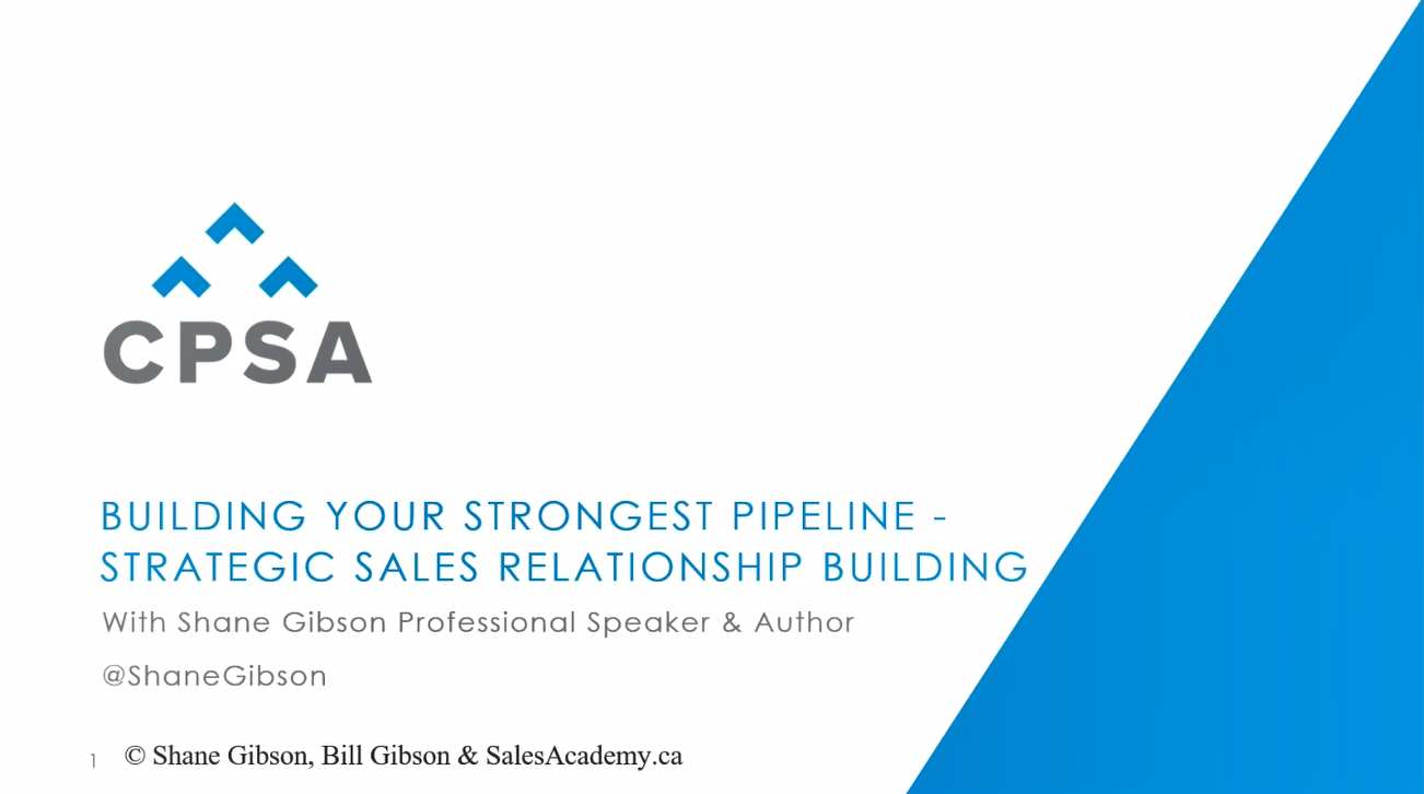 Mastermind Session: Relationship Management - Building your Strongest Pipeline