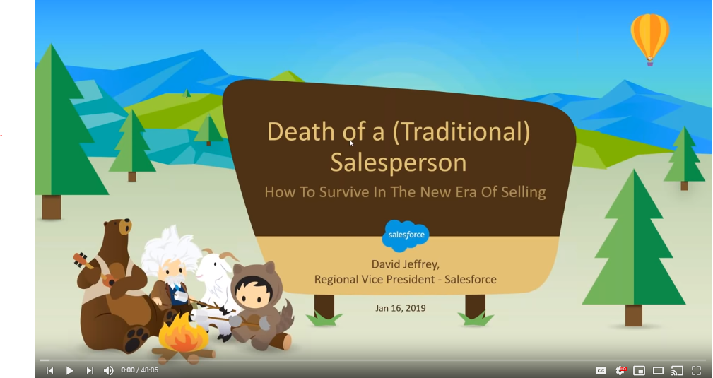 CPSA Webinar Recording: Death of a (traditional) Salesman - How to Survive in the New Era of Selling