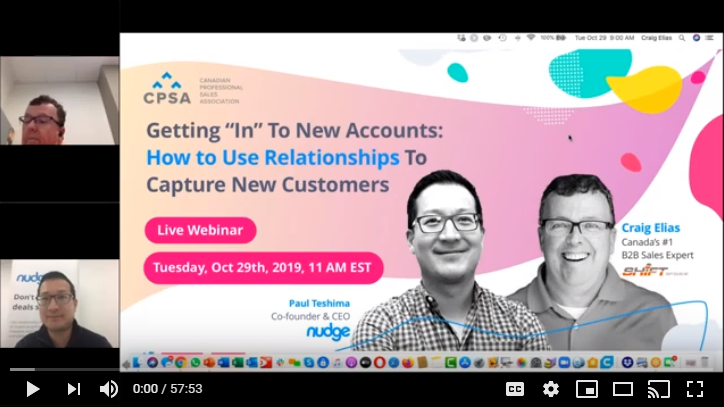 Webinar Recording: How to Use Social Media to Build Relationships and Capture New Customers
