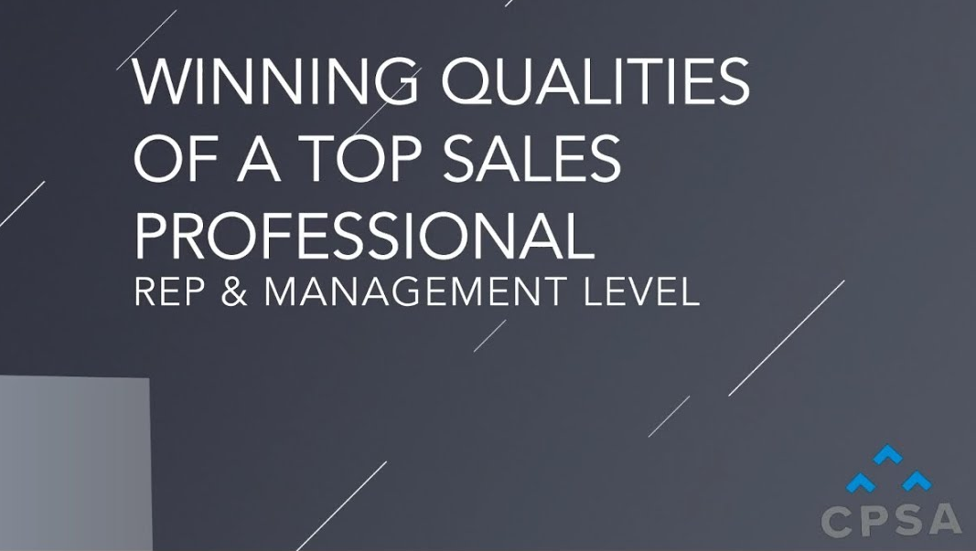 Three Winning Qualities of a Top Sales Professional